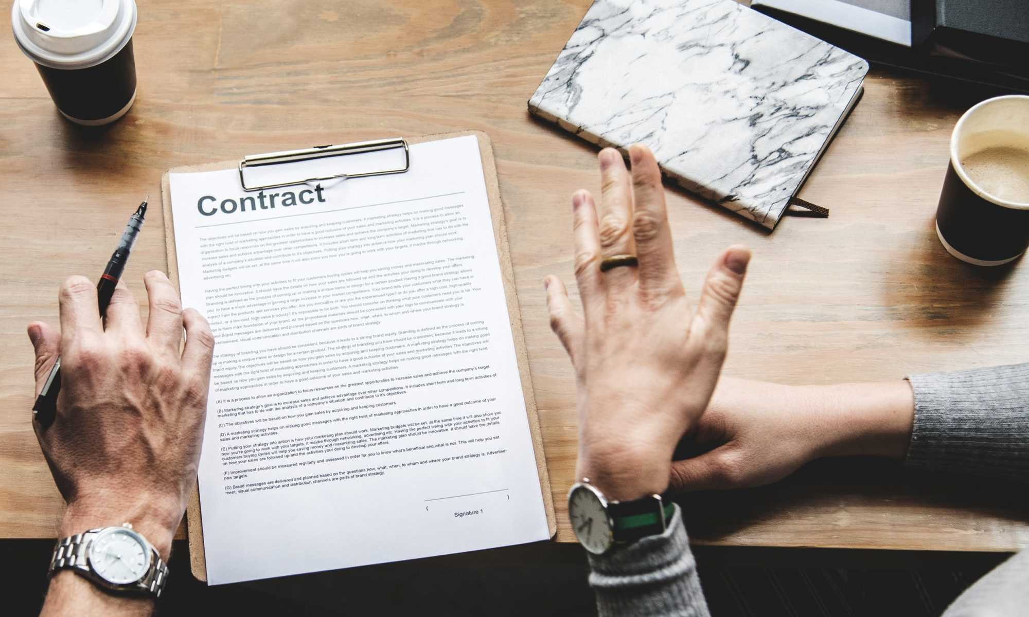 The Important of a Written Contract from a Builder in Essex